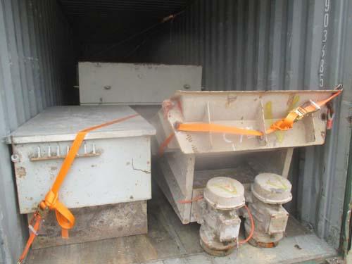 二手机械进口报关装柜运输