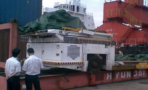 美国机械进口商检查验过程
