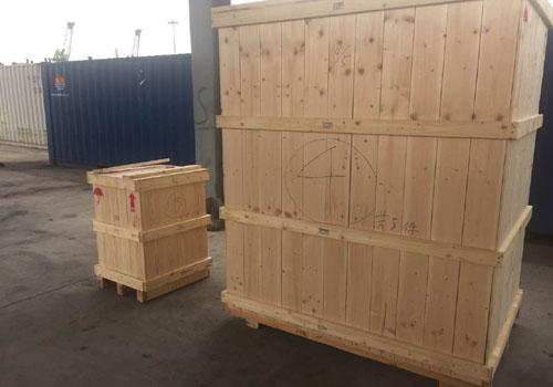 进口印刷机打包运输