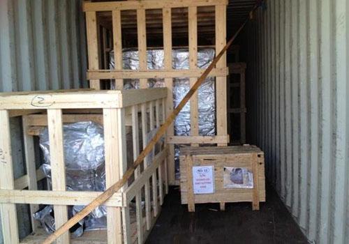 进口旧机电设备打包运输