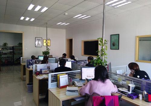 恒邦国际物流深圳分部办公场景