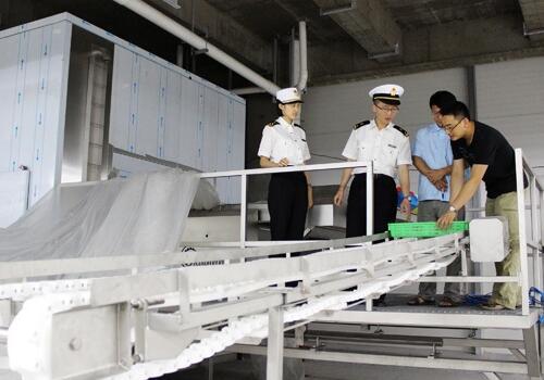 海关查验进口机械设备
