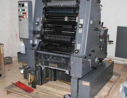 二手印刷机进口打包启运