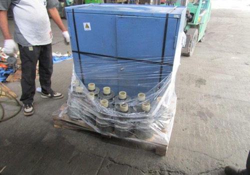 旧设备进口报关清洗打包运往国内港口
